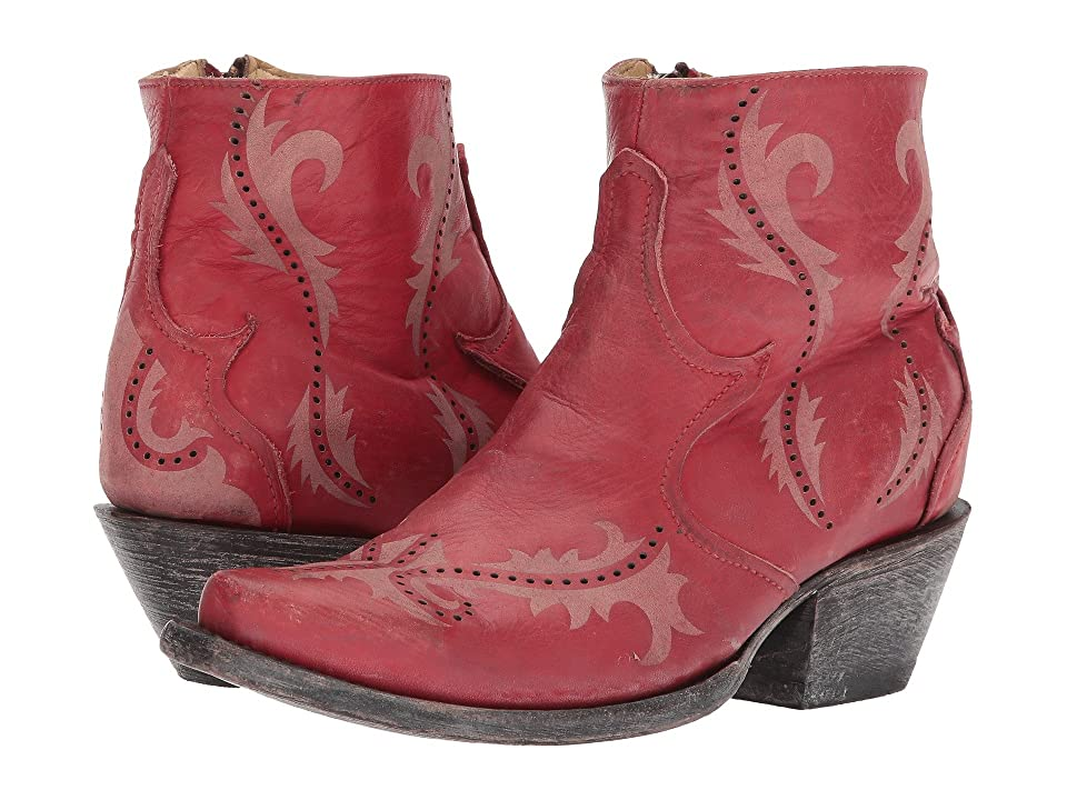 Corral Boots G1379 (Red) Cowboy Boots