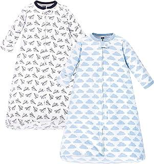 Unisex Baby Cotton Long-Sleeve Wearable Sleeping Bag, Sack, Blanket
