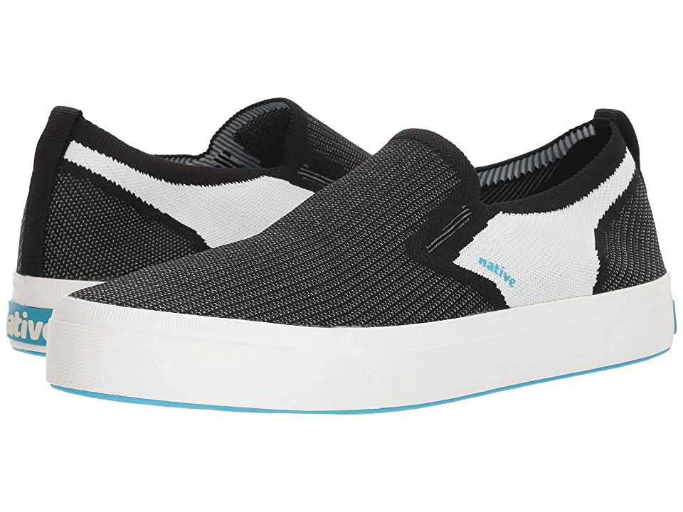 Native Shoes Miles 2.0 Liteknit (Jiffy Black/Shell White/Shell White) Shoes