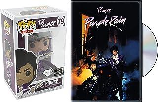Prince Mega Bundle: Purple Rain DVD Movie & Funko Pop # 79 Figure Exclusive Diamond (DVD Figure Bundle)