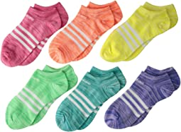 Superlite No Show Socks 6-Pack (Toddler/Little Kid/Big Kid/Adult)