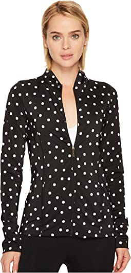 Kate Spade New York x Beyond Yoga - Madison Bow Jacket
