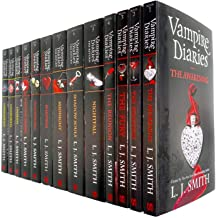 Vampire Diaries Complete Collection 13 Books Set by L. J. Smith (The Awakening, The Return, The Hunters & The Salvation)