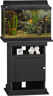 center table with fish tank