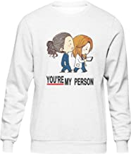 You Are My Person Inspired Grey'S Anatomy Kawaii Anime Suéter