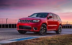 160103 2018 Jeep Grand Cherokee TRACKHAWK Decor Wall 32x24 Poster Print