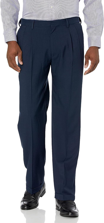 Haggar Men's Premium Comfort Stretch online shopping Dress Classic Award Fit Pant