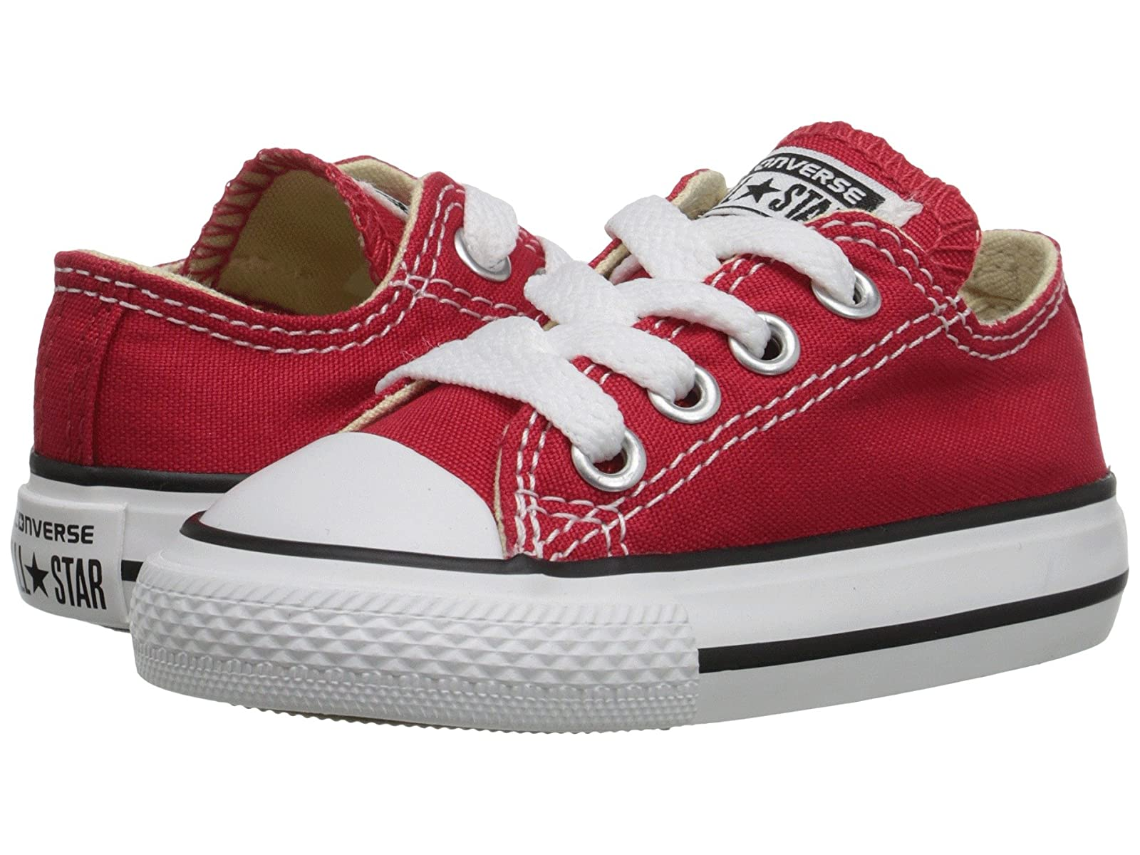Converse All Kids Chuck Taylor® All Converse Star® Core Ox (Infant/Toddler)/authentic/Gentleman/Lady d86036