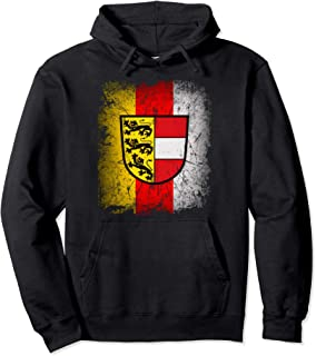 Carinthia T-Shirt with Coat of Arms and Flag Retro Kaernten Pullover Hoodie