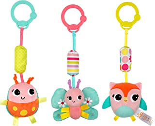 Bright Starts Chime Along Friends Take-Along Toys--Characters May Vary, Each Sold Separately