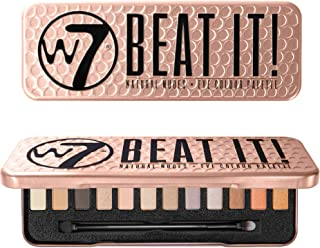 W7 | Beat It! Highly Pigmented Eyeshadow Palette | 12 Matte and Shimmer Shades of Nudes, Pinks and Coppers | Long Lasting ...
