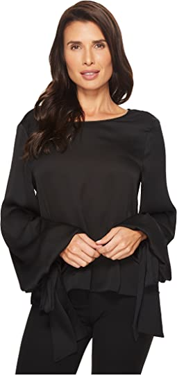 Vince Camuto - Tie Cuff Bubble Sleeve Blouse