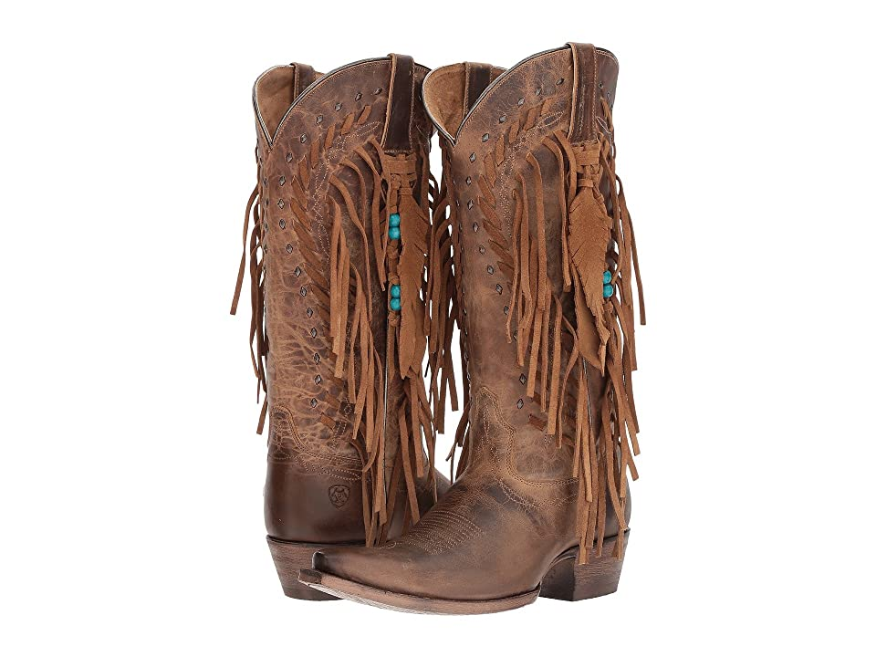 Ariat Brisco Fringe (Dusted Wheat) Cowboy Boots
