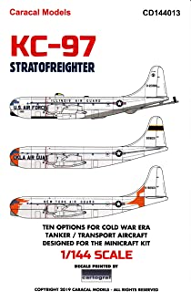 Caracal Models CARCD144013 1:144 Decals - KC-97 Stratofreighter [WATERSLIDE Decal Sheet]