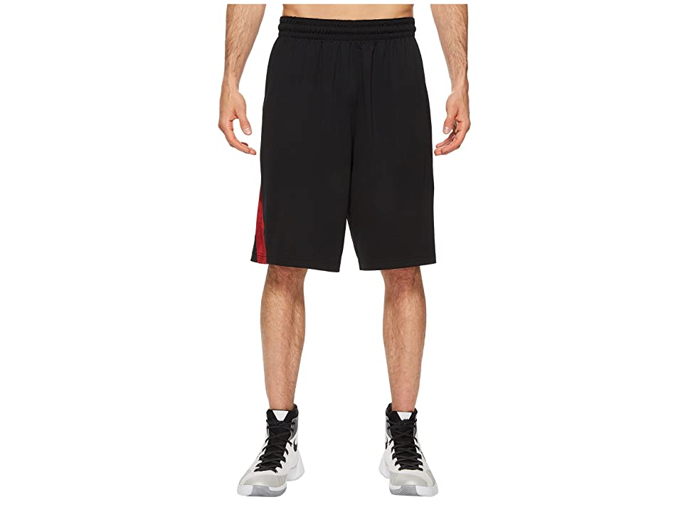Nike Dry Buckets Basketball Short (Black/University Red) Men