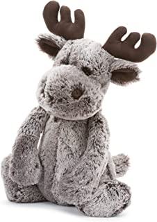 Jellycat Bashful Marty Moose Stuffed Animal, Large, 15 inches