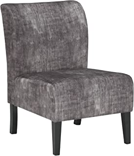 Signature Design by Ashley – Triptis Accent Chair – Casual – Charcoal Gray