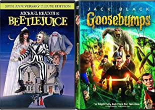 Skeletons in the Closet R.L Stine The Movie Goosebumps + Beetlejuice Tim Burton with TV episodes Animated Spooky Boo-Tique! Creepy family Fright Fun Pack