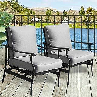 Amazon Com Patio Furniture Sets Grey Metal Patio Furniture Sets Patio Furniture A Patio Lawn Garden