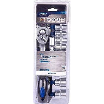 FORD TOOLS confezione 1//2-Set di chiavi a bussola per cricchetto /&-Pro 72 denti 20 pezzi