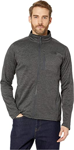 f428fd0ba The north face mens canyonlands full zip fleece heather grey asphalt ...