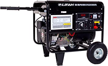 Lifan Pro Series WeldPro AXQ1-200a, 4000 Running Watts/4500 Starting Watts, Gas Powered Portable Generator, with 200 Amp Welder Combo