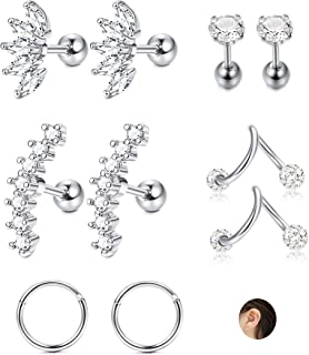 small earring for top of ear