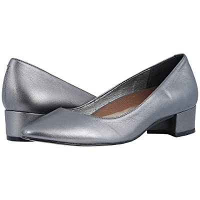 Walking Cradles Heidi (Dark Silver Metallic Leather) Women