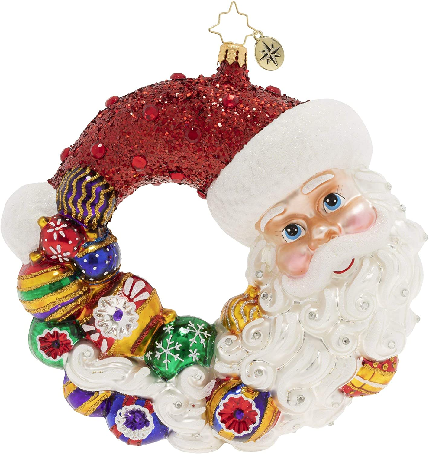 Christopher cheap Radko Hand-Crafted European Glass Christmas Super beauty product restock quality top! Ornament