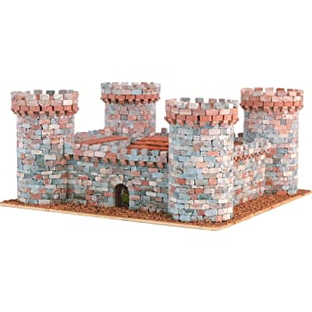 Keranova- Kit de cerámica Castillo 2, Color blanco (30316