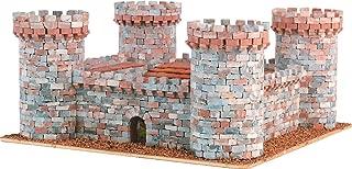 DOMUS-KITS Domus Kits40901 2570 Pieces Medieval Castellum 1 Castles Model, Scale 1:145, Multicoloured