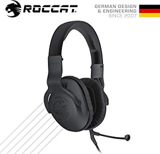 ROCCAT Cross - Multi-platform Over-ear Stereo Gaming Headset, AS Packaging (正規保証品)ROC-14-510-AS