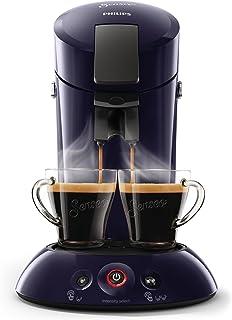 Philips Senseo kapsüllü kahve makinesi (Crema Plus, kahve sertliği seçimi). Mavi HD6554/40