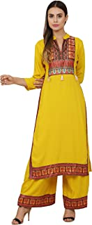 Shopbering Women's Rayon Salwar Suit