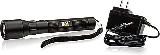 Cat CT12356P Rechargeable Flashlight – High Intensity 400 Lumen LED Water & Impact Resistant Aluminum Flashlight, Black