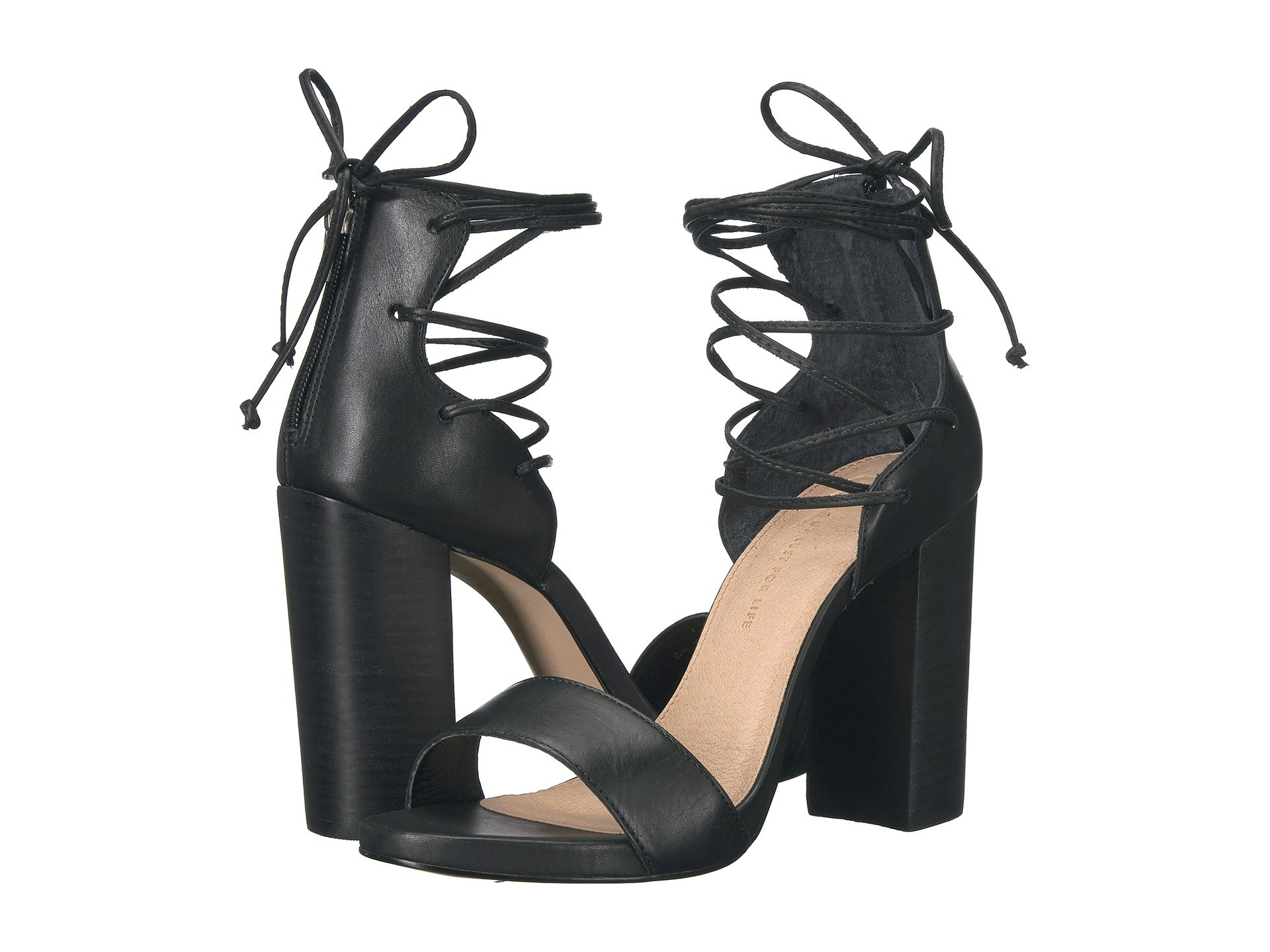 LFL BY LUST FOR LIFE Gaze, Black Leather