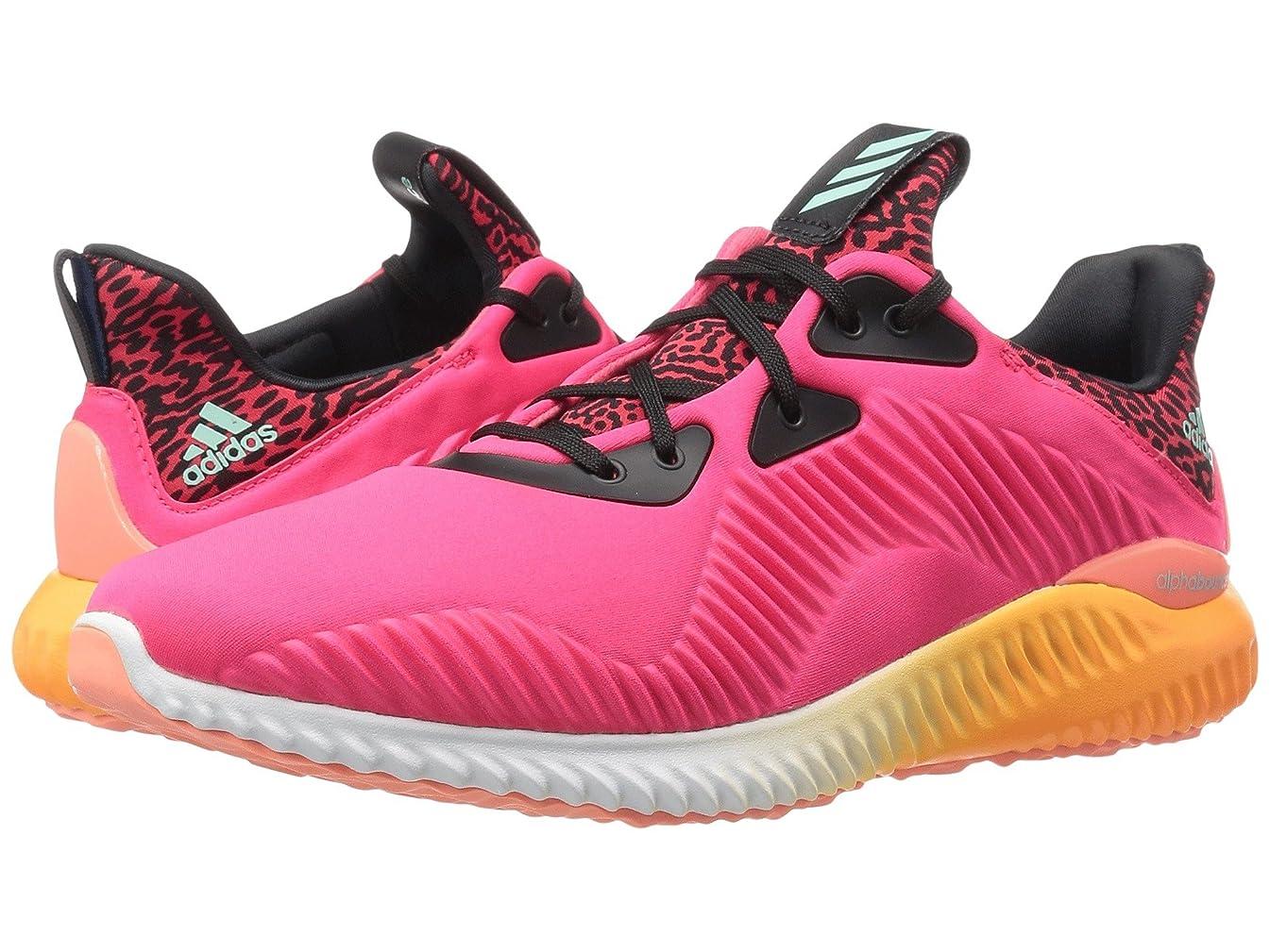 モバイルうなり声サミット(アディダス) adidas レディースランニングシューズ?スニーカー?靴 Alphabounce Shock Red/White/Sun Glow/Ice Green/Crysal White 9.5 (26.5cm) B - Medium