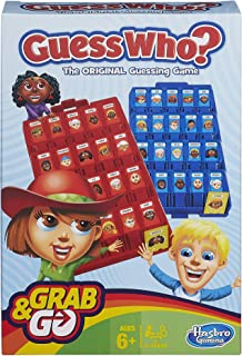 Hasbro Guess Who Grab And Go Game