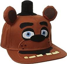 BIOWORLD Five Nights At Freddy's Big Face Plush Snapback Baseball Cap