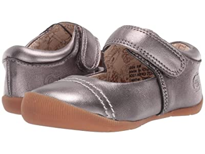 Livie & Luca Stitch (Infant/Toddler) (Pewter Metallic) Girl
