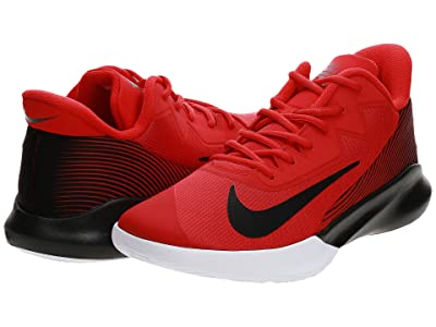 Nike Precision IV (University Red/Black/White) Shoes
