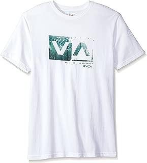RVCA Men's Reflection Box Short Sleeve Logo T-Shirt