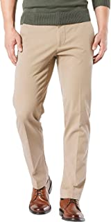 Men's Straight Fit Workday Khaki Pants with Smart 360 Flex