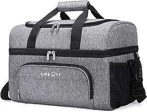 Lifewit koeltas Geïsoleerde dubbeldekker Soft Cooler Soft-Sided koeltas voor strand/picknick/sport