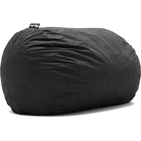 Big Joe Fuf W/Liner, Extra Large with Removable Cover, Black