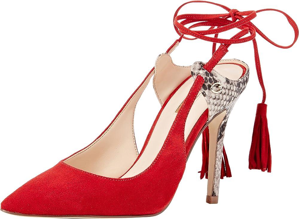 Guess baja, scarpe per donna col tacco a spillo,in pelle scamosciata FLBAJ1SUE08