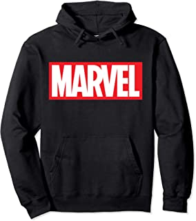 Classic Bold Red Logo Graphic Hoodie