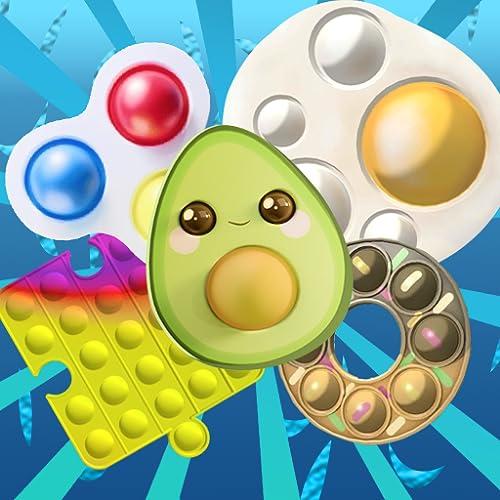 Fidget Press Bubbles Ouch - Trading Toys Fidgets Trade Pop us it Push Bubbles Master