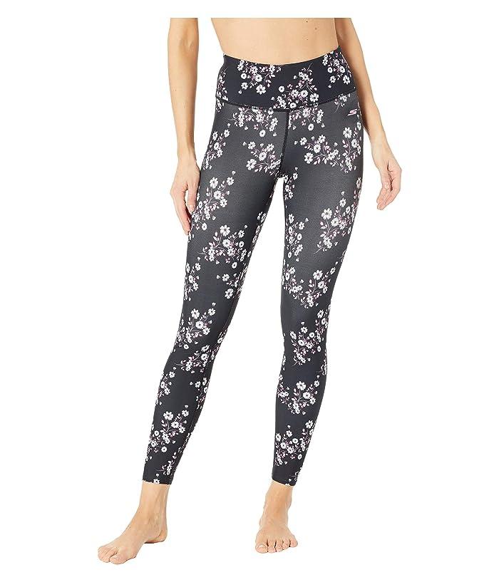 SKECHERS Cherry Blossom Leggings (Black Multi) Women