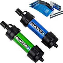 SAWYER Products SP2101 Mini Water Filtration System, 2-Pack, Blue and Green